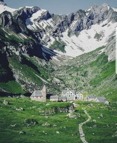 Berggasthaus Meglisalp,Wasseraeun, Switzerland