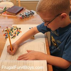 Math with Legos: Grouping and Getting Ready for Multiplication - Frugal Fun For Boys