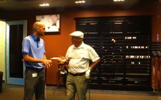 Being Club Fitted at the Callaway Headquarters in Carlsbad California