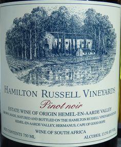 Best Hidden Secrets of The Wine World: Wines of South Africa - #HamiltonRussell Vineyards