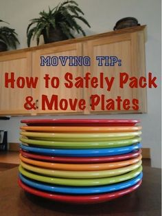 How to Move and Pack Plates by tania