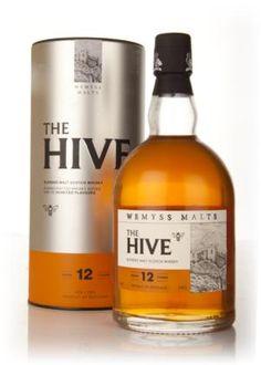 Wemyss Malts The Hive blended malt Honey Packaging, Coffee Packaging, Bottle Packaging, Tequila, Vodka, Cognac Whiskey, Good Whiskey, Malt Whisky, Scotch Whisky