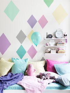 Væg - Farver