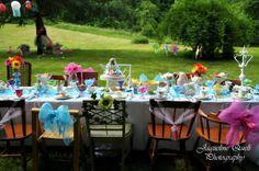 Pretty Alice in Wonderland table