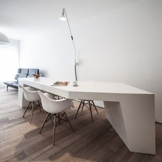 Loft MM is a minimalist house located in Bilzen, Belgium, designed by C.T. Architects. This renovation includes the conversion of the ground...