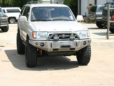 ShrockWorks Toyota 4Runner Winch Bumper Front Bumper Bull Bar Off-road