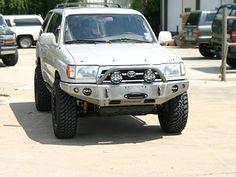 ShrockWorks Toyota 4Runner Winch Bumper Front Bumper Bull Bar Off-road