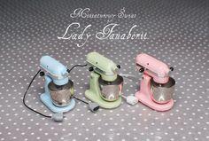 Miniatur Kitchen Aid motor Neiger stand Mixer mit von MiniFanaberia