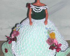 Crochet poupée Barbie Pattern - #678 Couturier ORIGINAL #6