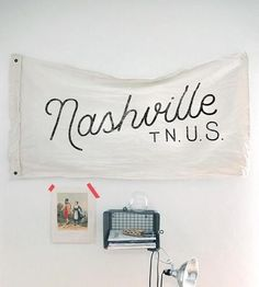 Nashville Handmade Cotton Flag by The Wild Standard on Scoutmob Shoppe