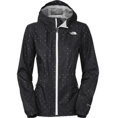 A waterproof exterior makes The North Face® Kareena Jacket your ideal choice for this rainy season. Constructed of breathable fabric, you will stay dry in this lightweight jacket. With a dry-touch interior, the Kareena features a draw cord at the waist allowing you to show off your feminine figure even when the rain clouds roll in. Style and protection combine in this TNF® style with elements like an adjustable hood and bottom split hem.