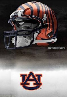 Auburn University Tigers - concept football helmet