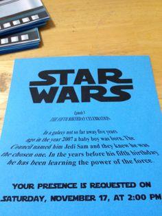 "Photo 19 of 28: Star Wars / Birthday ""Star Wars 5th Birthday"" | Catch My Party"