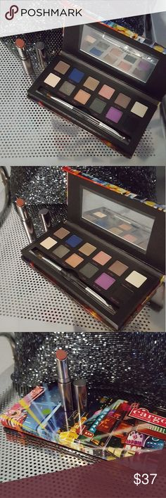 ⚡1 Day Sale!⚡Cargo Palette and Lipstick This set includes 2 brand new items. The Shanghai Nights palette which is brand new in box and the essential lipstick in Dubai which is brand new without box. The palette shades are bold and pigmented and look stunning. The essential lipstick is so creamy and is a stunning nude that suits many skin tones! Cargo Cosmetics Makeup Eyeshadow