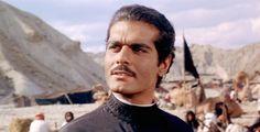 Omar Sharif as the fictional character Sherif Ali ibn el Kharish in Lawrence of Arabia, 1962