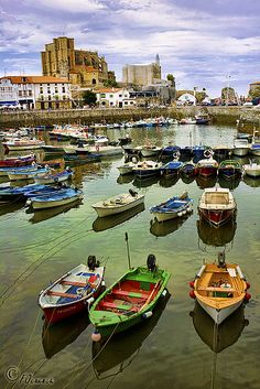 Colorful Boats - Castro Urdiales, Spain