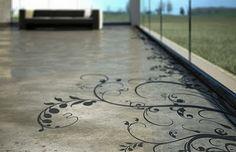 amazing concrete floor