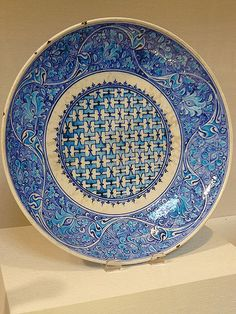 Dish Turkey 16th century CE composite   Mary Harrsch   Flickr