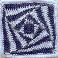 Amazing crochet square