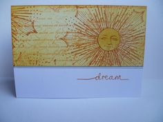 Dream card...Inkadinkado Stamping Gear