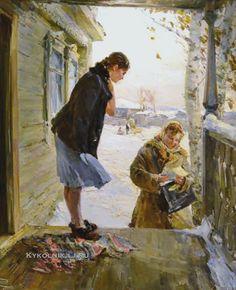 Сорогин Геннадий Павлович (1930-2004) «Письмо» 1960