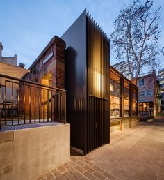 Welsh+Major Architects The Rocks Old Police Station  Vitrocsa Australia