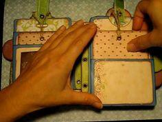 Mini Envelope Scrapbook - bjl  Good ideas for envelope pockets and other hidden real-estate
