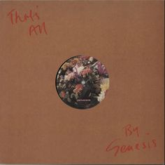 "For Sale - Genesis That's All UK  12"" vinyl single (12 inch record / Maxi-single) - See this and 250,000 other rare & vintage vinyl records, singles, LPs & CDs at http://eil.com"