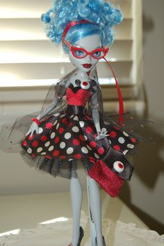 Ghoulia Sweet 1600 Custom created by emtdoll!