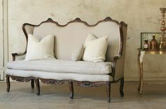 Vintage French Settee