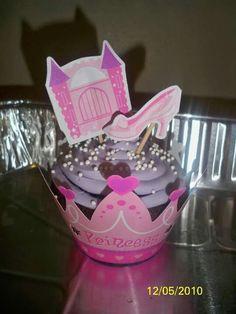 Diva princess cupcakes