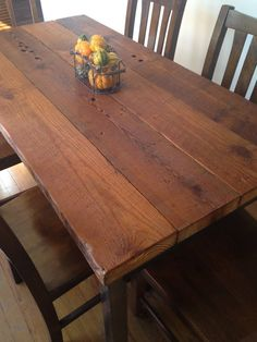 Reclaimed Wood Dining Table  South Street by ReclaimedPA on Etsy, $1365.00