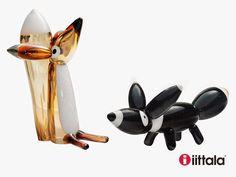Fabulous foxes by Klaus Haapaniemi for Iittala - Fabulous Finnish Magic Fox, Fabulous Fox, Great Names, Next At Home, Glass Design, Finland, Fabric Design, Glass Art, Artsy