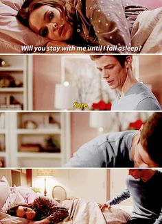 The Flash - Barry and Caitlin #1x12 #CrazyForYou #Snowbarry