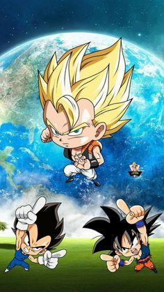 Dragon Ball Z, Dragon Ball Image, Gogeta And Vegito, Manga Dragon, Dbz, Ball Drawing, My Art Studio, Anime Chibi, Fan Art