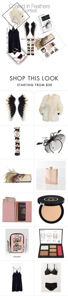 """Untitled #4"" by classicgypsy ❤ liked on Polyvore featuring Yves Saint Laurent, Gucci, Mascara, Dries Van Noten, Williams-Sonoma, Royce Leather, Benefit, Lord & Berry, Marc Jacobs and Madewell"