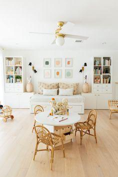Our Kids Playroom: Easy DIY Faux Built-In Storage — Sugar & Cloth