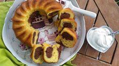JOGURTOVÁ BÁBOVKA Healthy Cookies, A Table, Waffles, Good Food, Breakfast, Sweet, Recipes, Food Ideas, Cakes