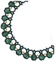 Crystal Sage Necklace Pattern at Sova-Enterprises.com