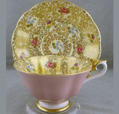 Royal Albert - Princess Series - Series www.royalalbertpatterns.com  pink