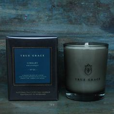 True Grace introduces wonder, romance and sophistication with their collection of elemental scented candles and room fragrances hand-made in Wiltshire, England, using the finest natural ingredients including rapeseed and beeswax. <br /> <br />A smoky blend of Cedar and Sandalwood with a little birch, tar, amber and moss. <br /> <br />Presented in a soft...