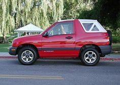 Convertible Chevy Tracker White Top Chevy Suzuki Convertible