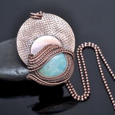Handmade One of A Kind Wire Wrap Artisan Jewelry