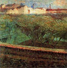 April Evening - Umberto Boccioni