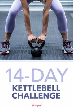 Our kettlebell challenge is designed to help you tone, build muscle and burn fat at an accelerated pace. Our kettlebell challenge is designed to help you tone, build muscle and burn fat at an accelerated pace. Circuit Kettlebell, Kettlebell Workout Routines, Kettlebell Challenge, Kettlebell Training, Workout Challenge, At Home Workouts, Kettlebell Deadlift, Kettlebell Benefits, Body Workouts