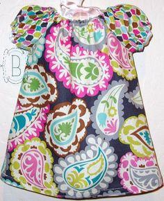 Perfect Paisley girls dress by Belladini