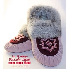 Ivy Acreman Moccasin Slippers, now on sale for $145.