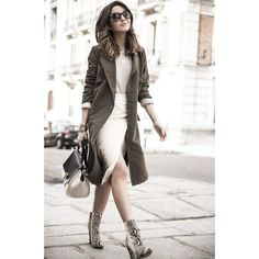 Lovely Pepa: 100 mejores looks - Style Lovely Spring Work Outfits, Winter Outfits, Summer Outfit, Moda Fashion, Womens Fashion, Cheap Fashion, Fashion Fashion, Trench Coat Outfit, Fall Clothes