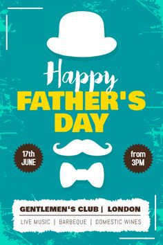 Advertising Poster Templates Awesome Happy Father's Day Sale Advertisement Poster Template Father's .