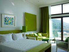 Double Deluxe Room at Salvator Villas & Spa Hotel, Parga, Greece, www.salvator.gr